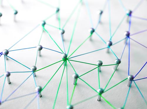 Unser Cluster bietet einen Kompetenzatlas um Mitglieder zu vernetzen.