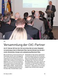 CVC-Mitgliederversammlung 2013