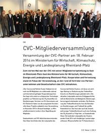CVC-Mitgliederversammlung 2014