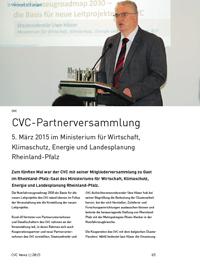 CVC-Mitgliederversammlung 2015